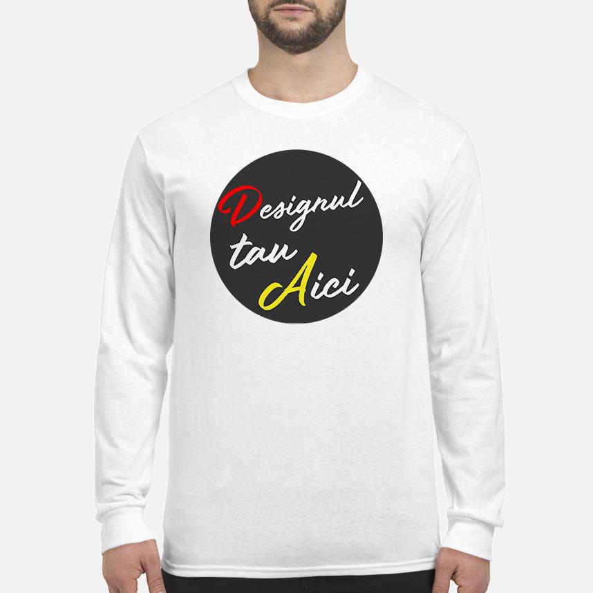 Personalizează ACUM - Tricou bărbați cu mâneci lungi
