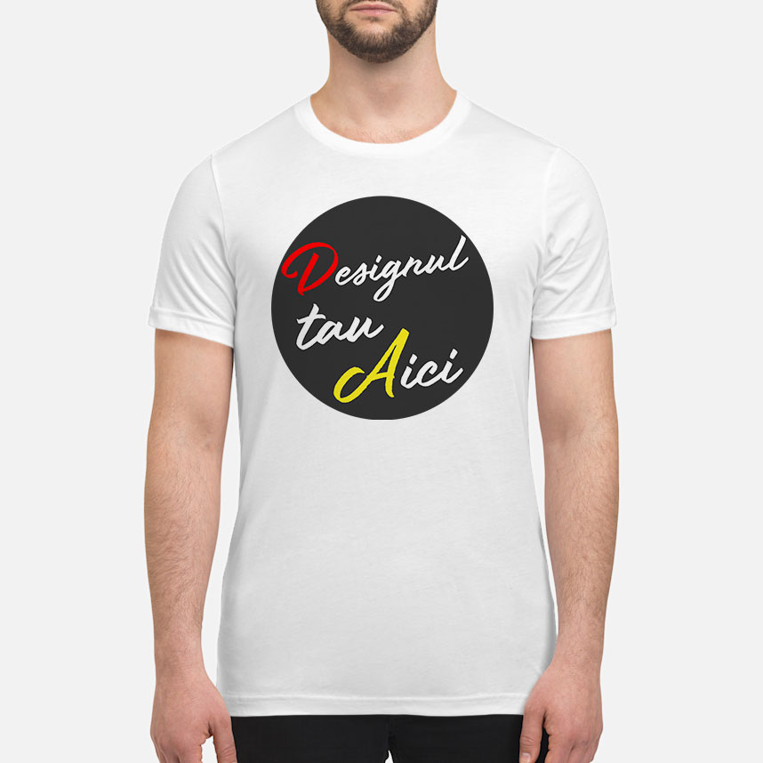 Personalizează ACUM - Tricou PREMIUM bărbați