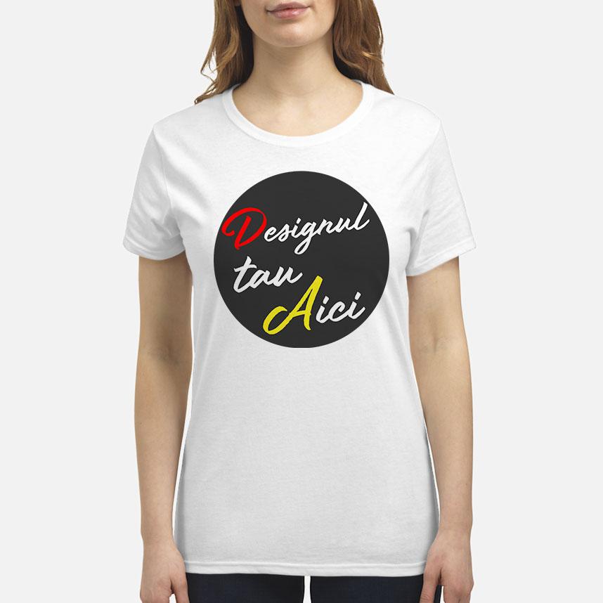 Personalizează ACUM - Tricou PREMIUM damă
